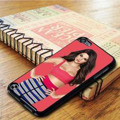 Gorgeous Hot Pink Selena Gomez iPod 5 Touch Case