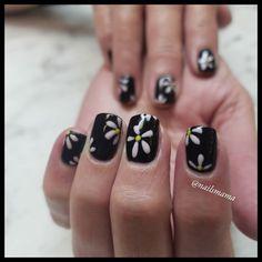 Polygel Nails, Gel Manicure, Gel Overlay, Short Square Nails, Floral Nail Art, Gel Polish, Nail Designs, Boutique, Studio