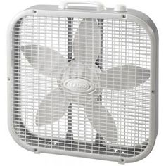 Lasko Indoor Box Fan at Lowe's. The Lasko 20 in. box fan combines the cooling power of 3 fan speeds and a 20 in. fan diameter, all in a compact, lightweight, energy-efficient Floor Fans, Fan Blades, D 20, Smart Design, Easy Home Decor, Energy Efficiency, Smart Technologies, Home Depot, Home Improvement