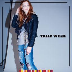 Una casaca elemental para días de viento. Elige tu look con @tally_weijl #SinRiesgoNoHayModa