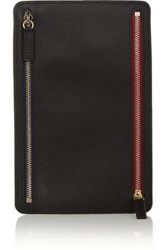 21ebfa7be2cb Panama textured-leather wallet #accessories #covetme #smythson