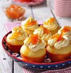 Marmalade Ginger Cupcakes