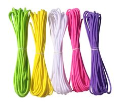 Springtime Color Paracord Bracelet Kit – 20 Ft of 550 – 5 colors = 100 ft total Paracord Zipper Pull, Paracord Dog Leash, Paracord Bracelet Kit, Paracord Weaves, Paracord Accessories, Homemade Dog Toys, Zipper Repair, Collar And Leash, Collars