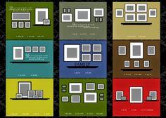 Como hacer composiciones con cuadros | Decorar tu casa es facilisimo.com