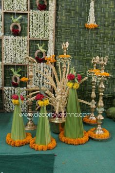Decor by Krishna AP/ Telangana/ Karnataka/ Tamilnadu/ USA/Australia Diwali Decorations At Home, Wedding Hall Decorations, Engagement Decorations, Festival Decorations, Baby Shower Decorations, Flower Decorations, Garden Ideas Diy Cheap, Housewarming Decorations, India Decor