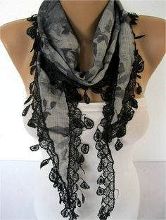 Big SALE 9.90 USD  Scarf women gift Ideas For Her by MebaDesign