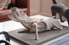 The Intricate Paper Sculptures of Designer Irving Harper Picassos guernica