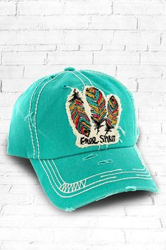 a33529e3e15 This Free Spirit distressed hat is the perfect year-round fashion  accessory! It is