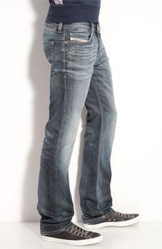 Jeans...with the waistband sitting on the WAIST!! {y'all know what I mean! lol}