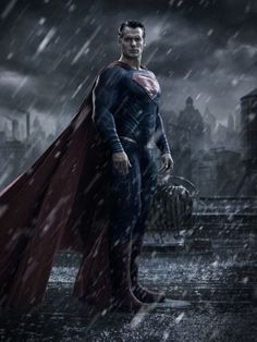 Henry Cavill, as Superman.