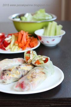 Pocak Panna paleo konyhája: Tavaszi Tekercs Gluténmentesen