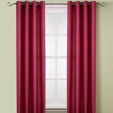 Moscow Window Panels - Bed Bath & Beyond ($39.99) - snazzy pattern, purple obviously, but again...$80 for curtains is kinda ridiculous.