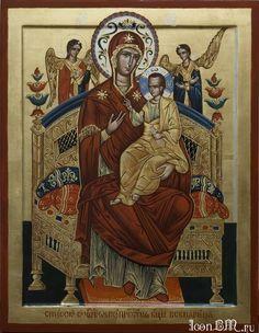 Икона Божией Матери «Всецарица» ( Παναγία )