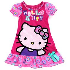 d9bc05ef4 Sanrio Hello Kitty Toddler Girls Noghtgown Pajamas. Great Valentine's Day  gift! www.YankeeToyBox.com #yankeetoybox #ytb #sanrio #hellokitty
