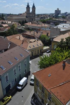Hungary - Eger. View from the minaret