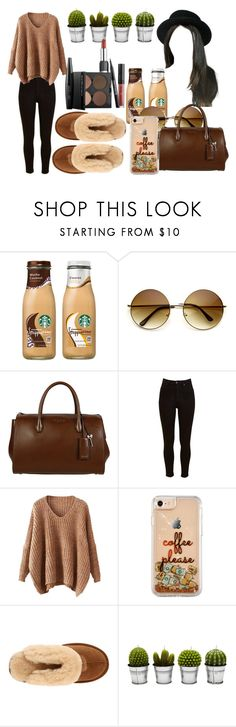 """l a z y♥"" by marifer-oso ❤ liked on Polyvore featuring Miu Miu, Lee, UGG Australia, Billabong and MAKE UP FOR EVER"