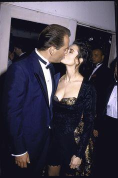 Demi Moore et Bruce Willis, en 1989.