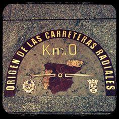 Puerta del Sol - Km. 0 ... Porque todo tiene un principio :-)