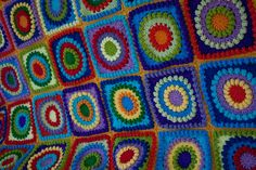 Circle of Friends Afghan by MossyOwls sew i see! blog