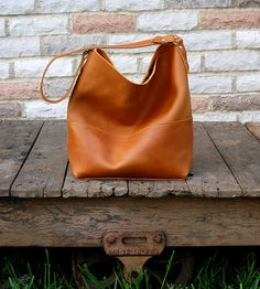 Catalina Leather Hobo Bag by Bubo Handmade on Scoutmob Shoppe