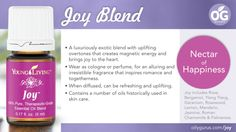 Young Living Essential Oils: Joy www.youngliving.org/ambermoore #1561016