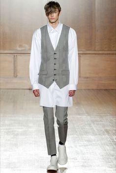 Sfilata Moda Uomo Alexander McQueen Londra - Primavera Estate 2015 - Vogue