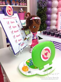 Doc Mc Stuffins Birthday Party Ideas | Photo 3 of 31 | Catch My Party