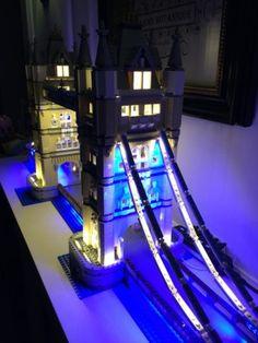 LED Light Kit (only light included) for lego 10214 / LEPIN 17004 Creator Expert London bridge Model Building : SHOP