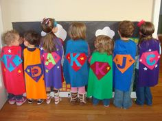 DIY t-shirt capes. Wife hat, Mom hat.: Jackson's SUPER 4th birthday!