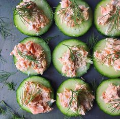 #snacks!! Cucumbers make an ideal substitution for chips and crackers when you're trying to get lean. I eat them with guacamole, put tuna, salmon, chicken and even egg salad on top. For killer snack ideas and recipes check out the recipes in my #jillianmichaelsapp meal plans go.jillianmichaels.com/app | : @kitchnkid