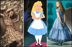 Faces of Alice through out time.