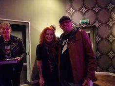Anneke and myself(Flemming) at Anneke's Concert in Tilburg Sep.28,2015