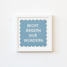 Siebdruck: Ärgern bringt nichts / screen print: don't be angry by Zubinski Products via DaWanda.com