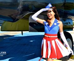 Captain America is one of my favorite super heroes and when I saw the USO Girls come out, I just had to replicate the costume! I wanted to show you al...