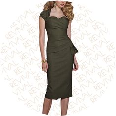 Stop Staring Dresses Uma Khaki Love the style. ...but wrong color