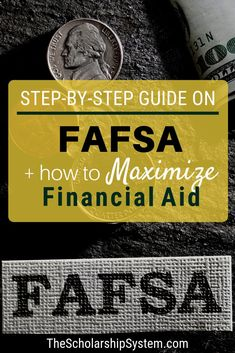 In the world of financial aid, the Federal Application for Federal Student Aid (FAFSA) is king. So, what is the FAFSA? It is a critical set of forms that determine whether a student is eligible for federal grants and loans, and is used by schools during t Grants For College, College Fund, Financial Aid For College, College Planning, College Admission, College Hacks, Scholarships For College, Education College, College Students