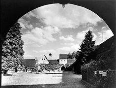 Berlin Jagdschloss Grunewald - Blick in den Schlosshof um 1935