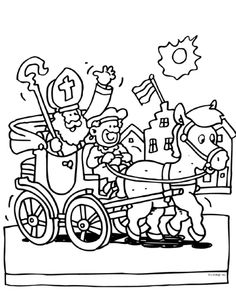 In de koets Coloring Pages, Saints, Snoopy, Comics, Kind, Fictional Characters, School, Google, Notebooks