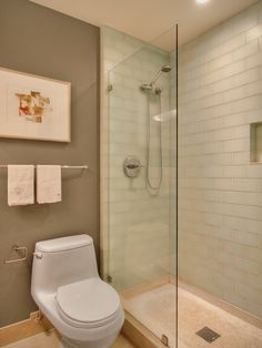 Contemporary Bathroom Small Bathroom Design, Pictures, Remodel, Decor and Ideas - page 3