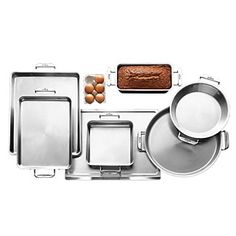 all clad bakeware...I love our cookware set, so these would be a welcome addition in my kitchen.