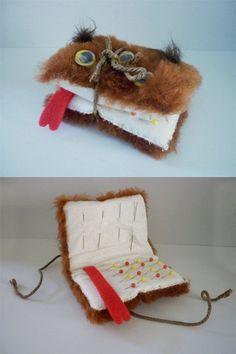 monsterbook pin cushion