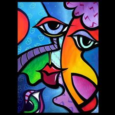 Art 'Pop 359 2635 US Original Abstract Pop Art Exhuberant' - by Thomas C. Fedro from Pop Art
