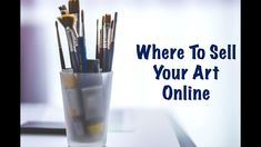 Where to Sell Your Art Online - Over 10 platforms where you can start making sales! Fashion History, Fashion Art, Where To Sell, Selling Art Online, Visual Arts, Art Tips, Art Market, Artist At Work, Sell Your Art