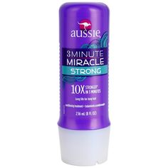 Hidratação - Aussie 3 Minute Miracle condicionador para cabelos danificados com atuação profunda em três minutos