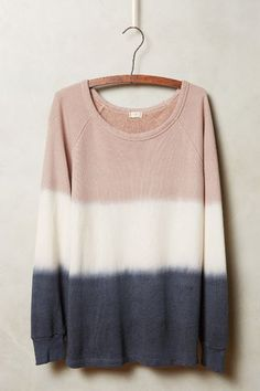 Dip-Dye Sweatshirt - anthropologie.com