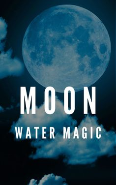Moon water is a liquid that witches use in rituals. Moon water has a variety of purposes, like love spells. Witches can use the liquid to make their spells more powerful. Some witches use moon water in divination practices. Some other witches use it in healing spells so that they can help people who are sick. Witchcraft History, Witchcraft Symbols, Witchcraft Herbs, Witchcraft Books, Witchcraft Supplies, Water Spells, Beauty Spells, Making Water, Witchcraft For Beginners