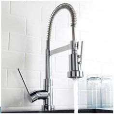 High Quality Satin Brushed Nickel Kitchen Sink Faucet Nickle Bathroom Faucet Deck  Mounted Kitchen Faucet From Flagship1, $115.19 | Dhgate.