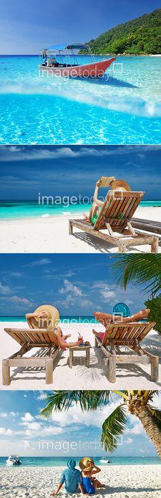 포토 #이미지투데이 #imagetoday #클립아트코리아 #clipartkorea #통로이미지 #tongroimages 관광지 물결 바다 섬 실외 여름 오브젝트 자연 휴양지 선베드 야자수 해변 photo tourist attraction wave sea island outside summer object nature sunbed beach