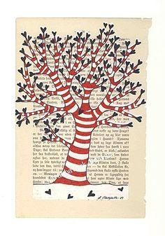 de l arbre provient le papier, du papier on fait un arbre !