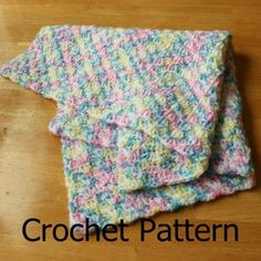 Crochet Baby Blanket Pattern Crochet Afghan Pattern Crochet | Etsy Baby Afghan Crochet Patterns, Easy Crochet Blanket, Crochet For Beginners Blanket, Crochet Baby, Beginner Crochet, Free Crochet, Crochet Blankets, Knitting Patterns, Chevron Crochet